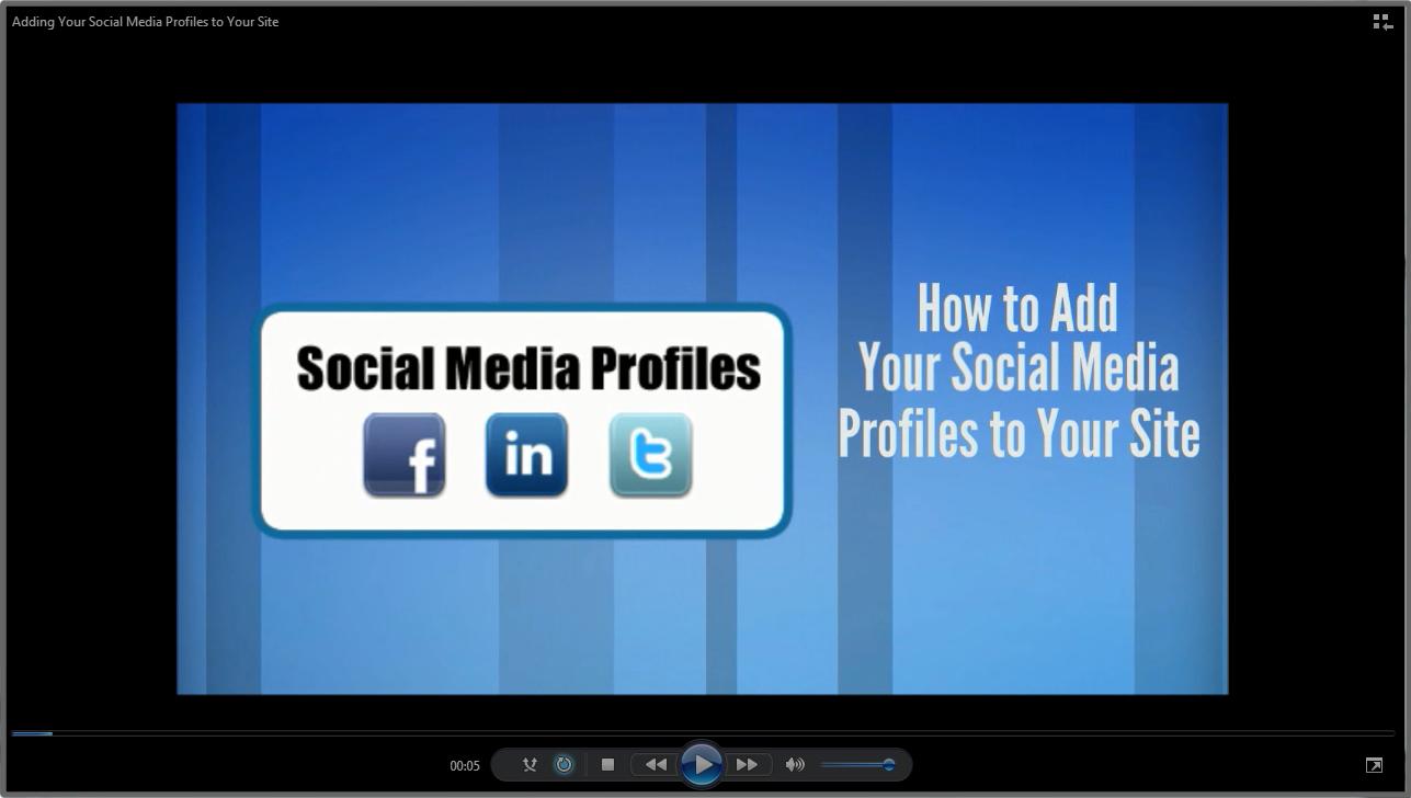 Adding Social Media