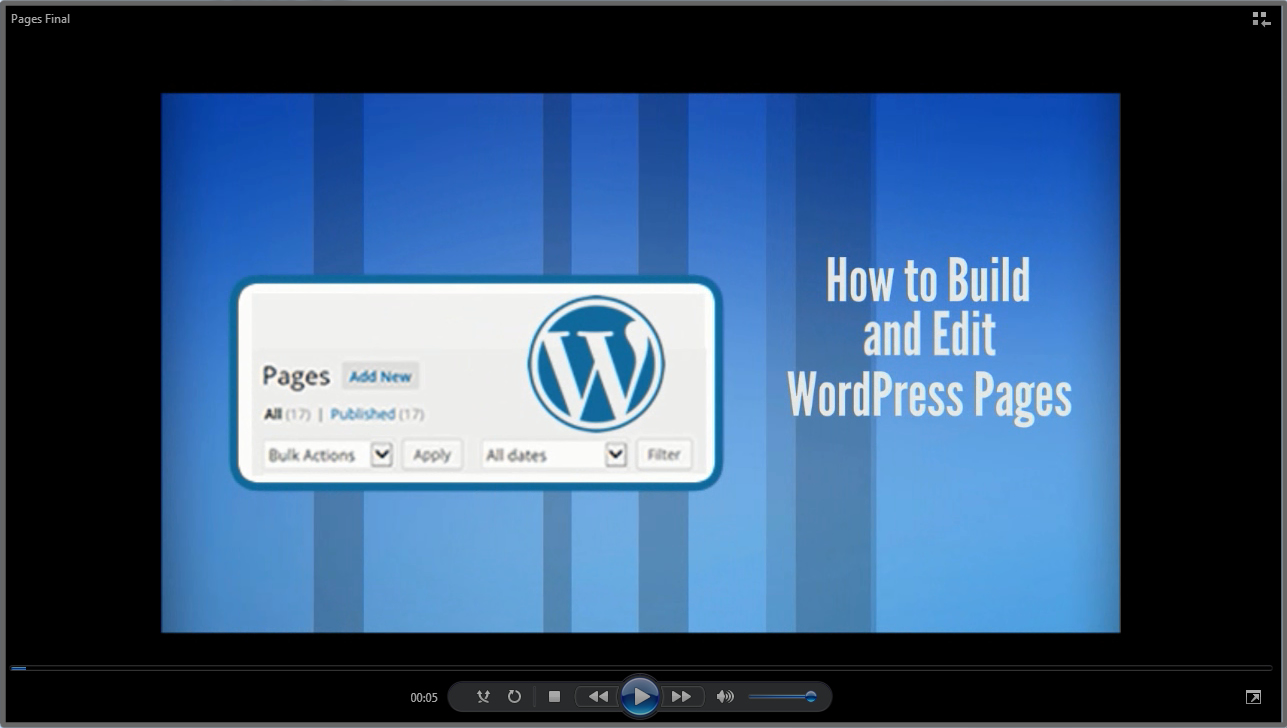 Build and Edit WordPress Pages